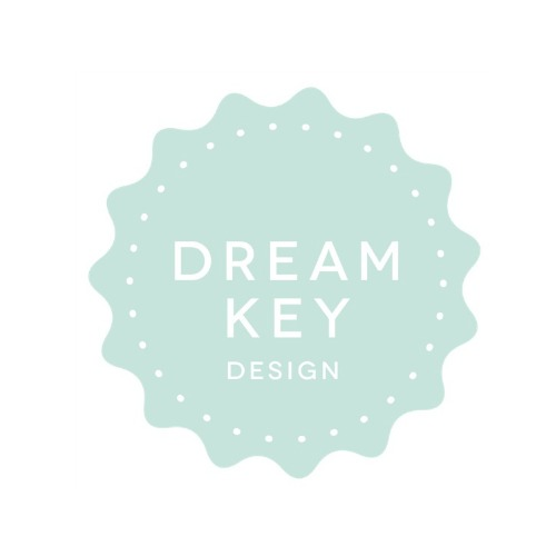 Cadeau stickervel Dreamkey Pattern