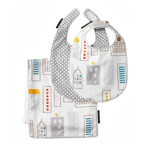 Spuugdoek set Dwell Studio Skyline | 3-dlg