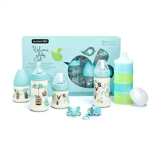 Baby Cadeau set Suavinex Welcome Boy