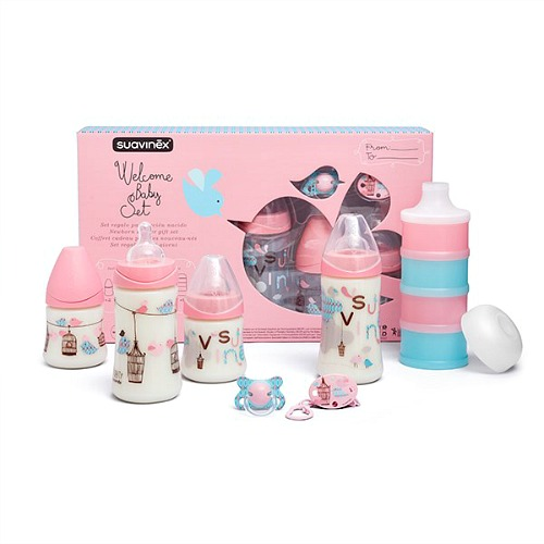 Baby Cadeau set Suavinex Welcome Girl