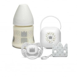 Suavinex Babykado set Swan Wit | LIMITED EDITION